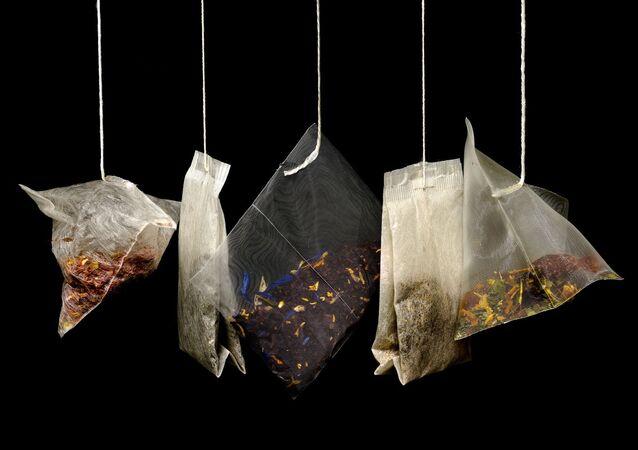 أكياس الشاي