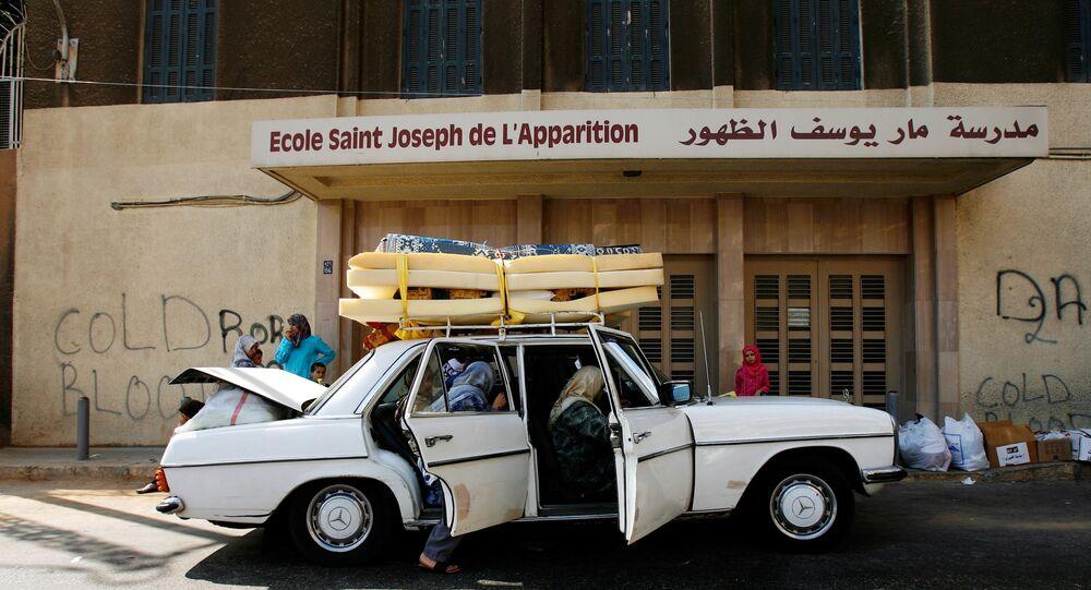 مدرسة في لبنان