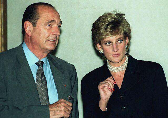 الأميرة ديانا وجاك شيراك