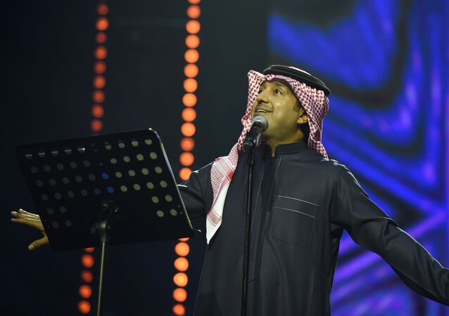 الفنان السعودي راشد الماجد