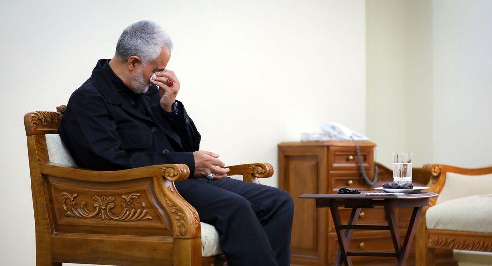 الجنرال قاسم سليماني قائد فيلق القدس الإيراني