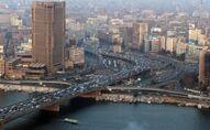 زحام السيارات في شوارع القاهرة