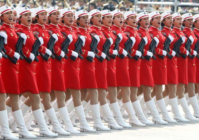 العرض العسكري بمناسبة الذكرى الـ 70 لتأسيس جمهورية الصين الشعبية، بكين 1 أكتوبر 2019