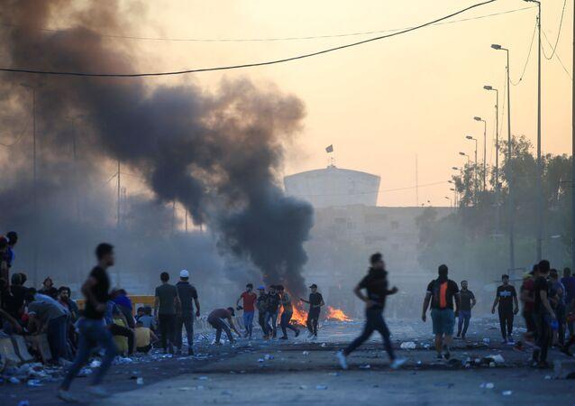 اشتباكات العراق