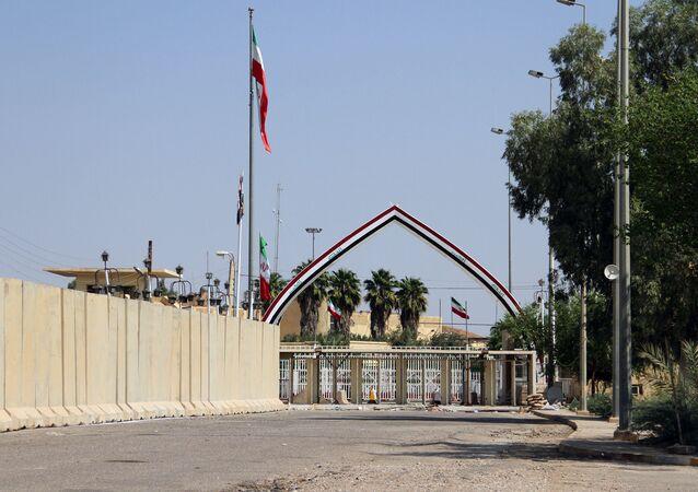 معبر خسراوي الحدودي بين العراق وإيران