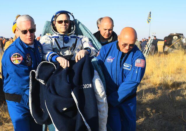 رائد الفضاء الأمريكي نيك هيغ