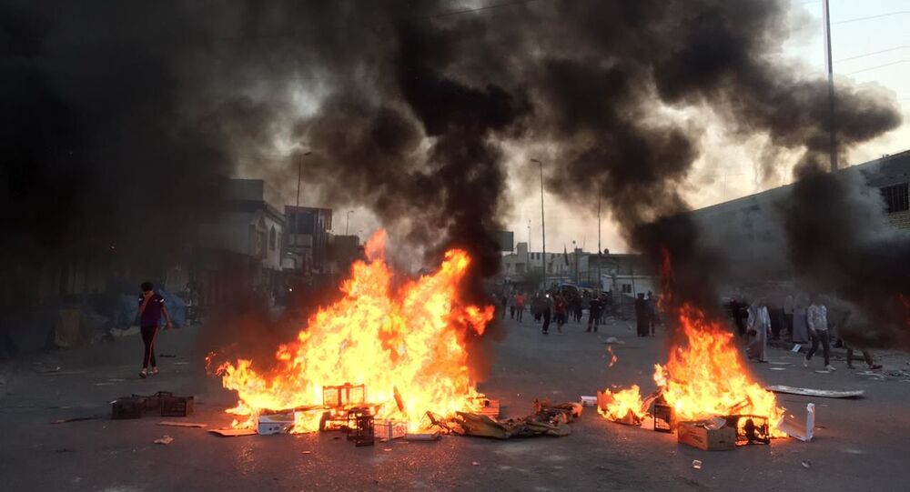 أحداث خفية من قمع تظاهرات ذي قار جنوبي العراق