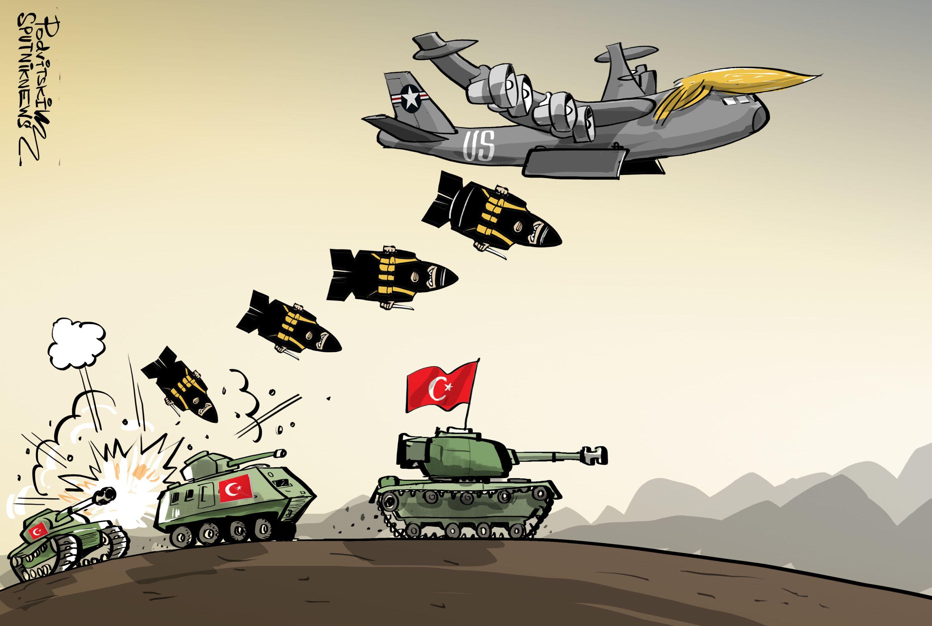 بعد انطلاق نبع السلام... أول تعليق لترامب على العملية