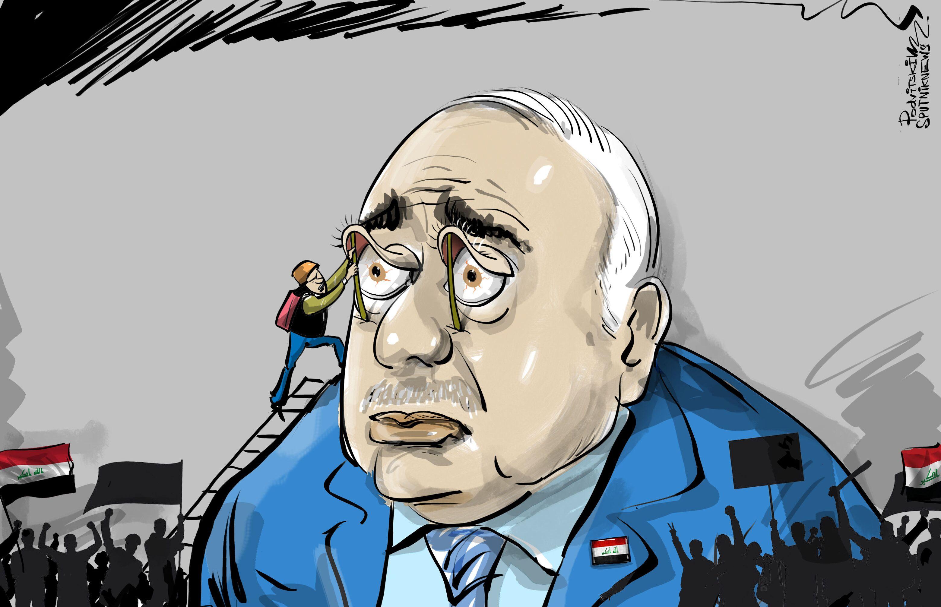 رئيس وزراء العراق: المظاهرات غيرت قواعد نومي