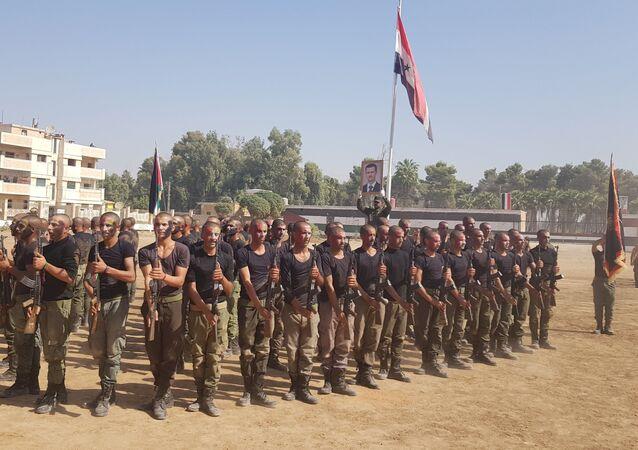 الشرطة السورية في الحسكة، سوريا