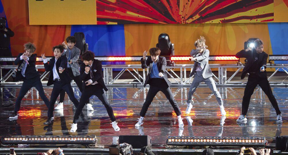 فريق بي تي إس الغنائي الكوري