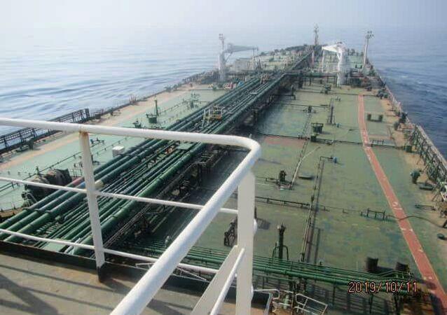 ناقلة النفط الإيرانية سابيتي