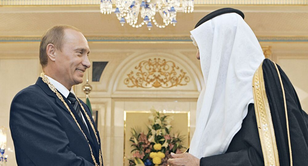 لقاء ولي العهد السعودي الأمير محمد بن سلمان بالرئيس الروسي فلاديمير بوتين