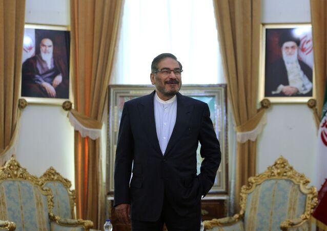 الأدميرال علي شمخاني مستشار قائد الثورة و أمين المجلس الأعلى للأمن القومي الإيراني