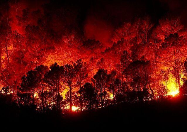 حريق ضخم (صورة أرشيفية)