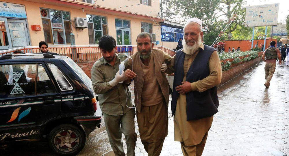 تفجير مسجد في أفغانستان
