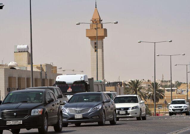 مسجد في العاصمة السعودية الرياض