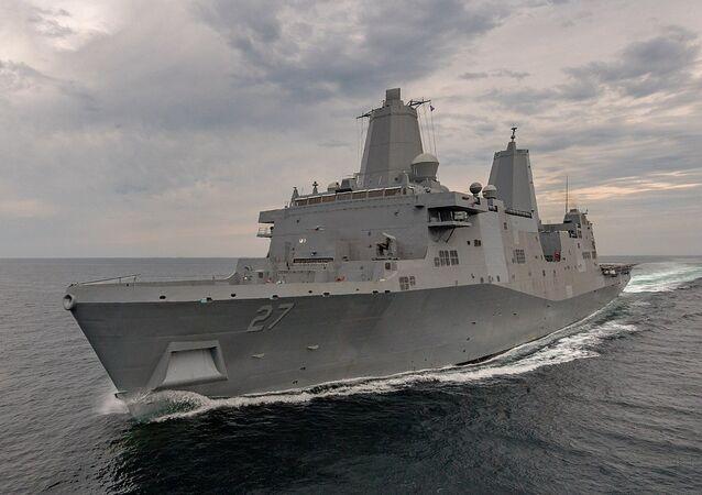 السفينة الحربية الأمريكية يو إس إس بورتلاند (LPD-27)
