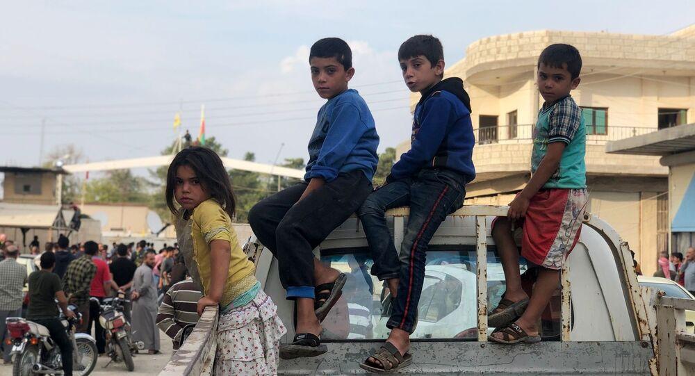 الوضع على الحدود السورية التركية، سكان عين العرب (كوباني)، سوريا