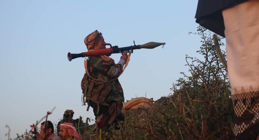 القوات المشتركة في الضالع في اليمن