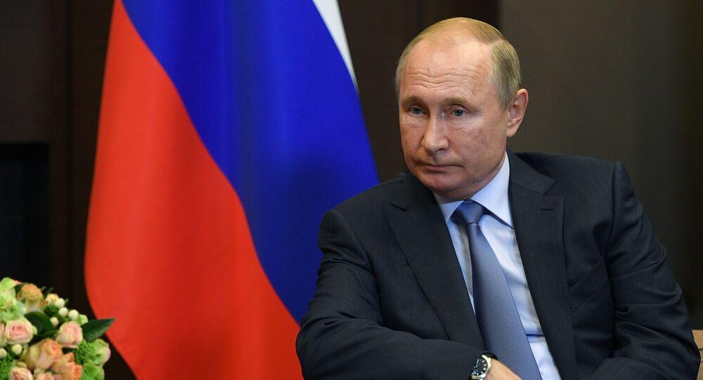 الرئيس الروسي فلاديمير بوتين محادثات سوتشي