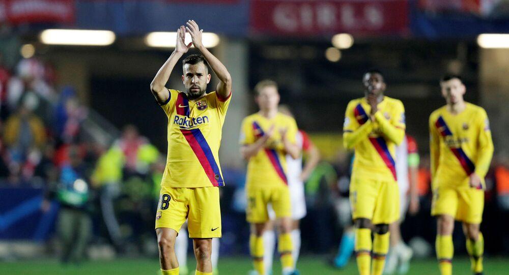 مباراة برشلونة وسلافيا براغ (2-1) في دوري أبطال أوروبا