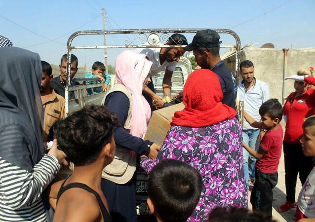 الجزيرة السورية، النازحين، سوريا، الحدود السورية التركية