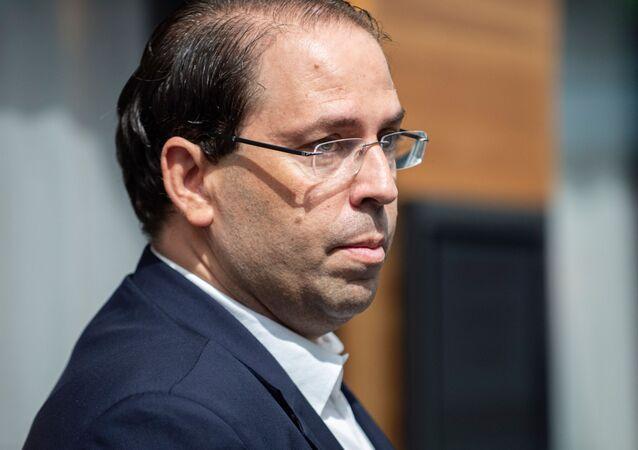 رئيس الحكومة التونسية يوسف الشاهد، 15 سبمتمبر 2019