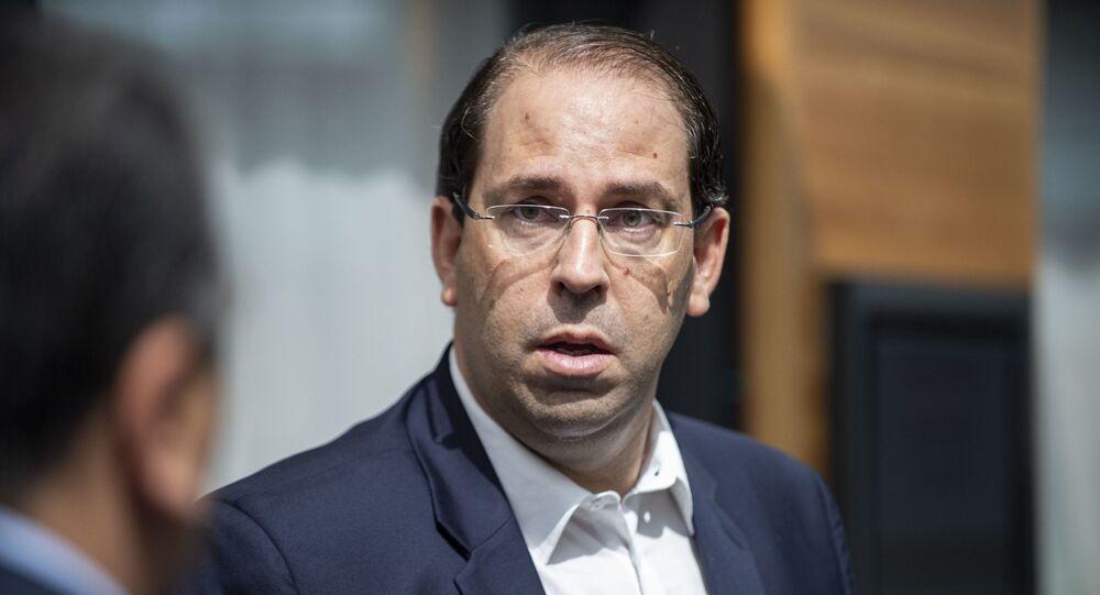 رئيس الحكومة التونسية يوسف الشاهد، 31 أغسطس 2019