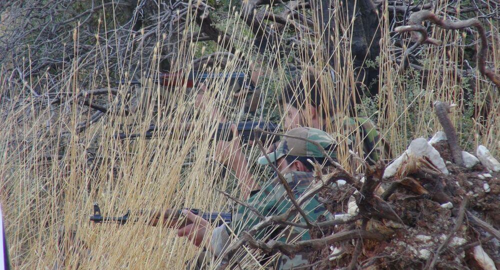 الجيش السوري يتقدم بريف اللاذقية ويسيطر على جبل استراتيجي