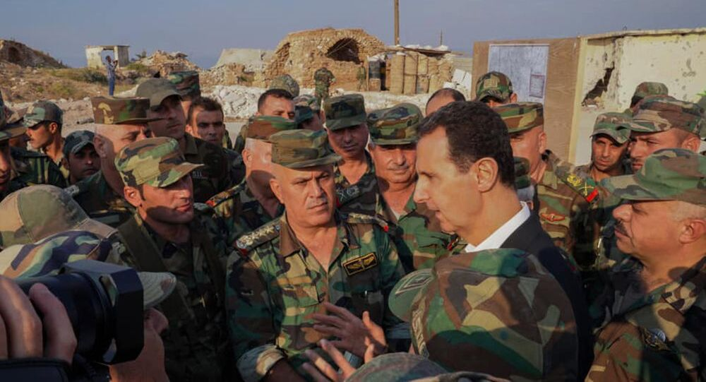 زيارة الرئيس بشار الأسد إلى ريف إدلب الجنوبي المحرر، سوريا