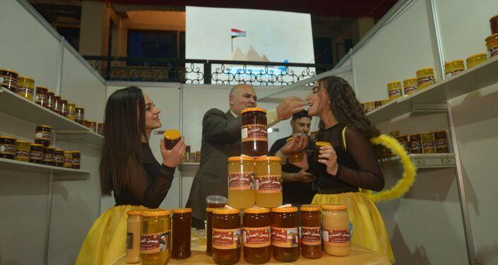 مهرجان العسل الذي أقامه اتحاد النحالين العرب- أمانة سوريا