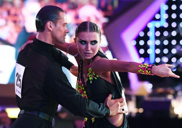 بطولة كأس الكرملين للرقص اللاتيني للمحترفين في قصر الكرملين، موسكو 19 أكتوبر 2019