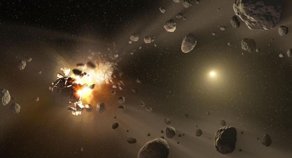 حزام الكويكبات بين المريخ والمشتري