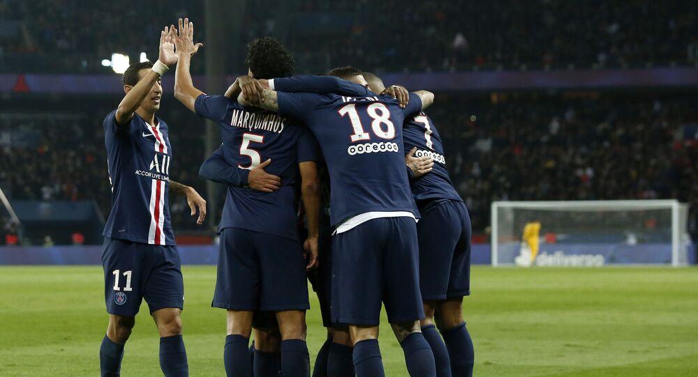 أهداف مباراة باريس سان جيرمان ومارسيليا في الدوري الفرنسي