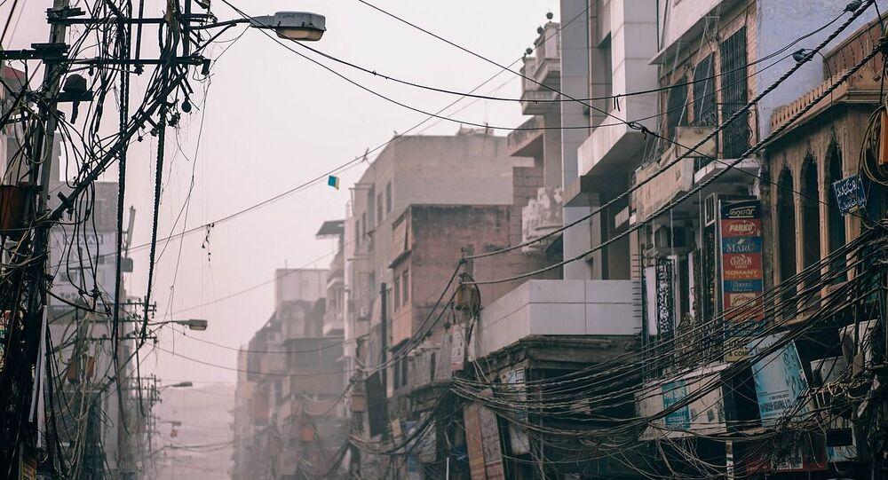 شارع في الهند