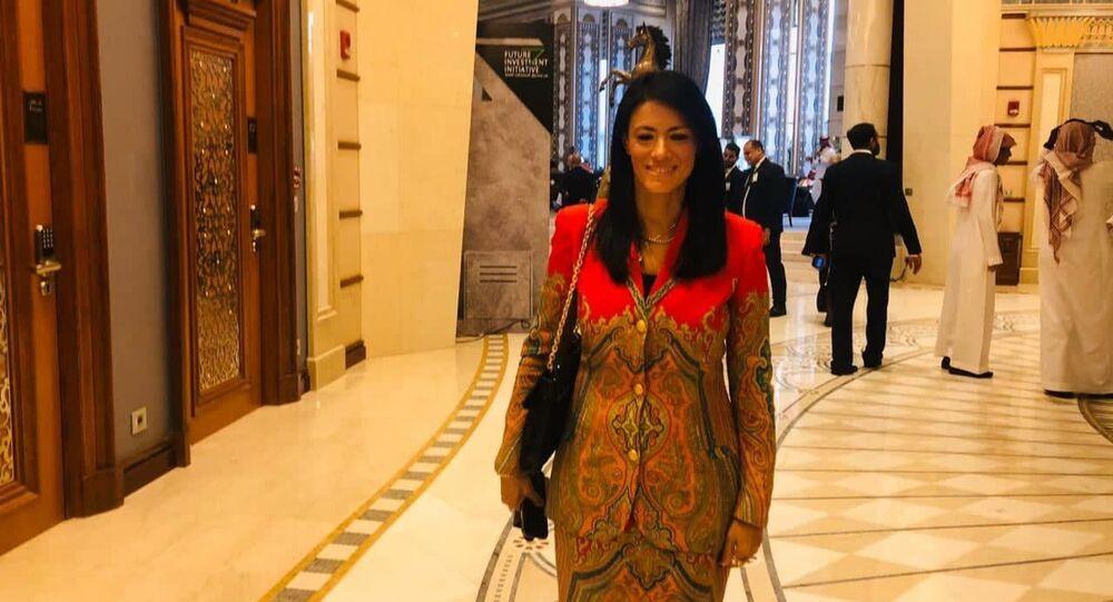رانيا المشاط وزيرة السياحة المصرية