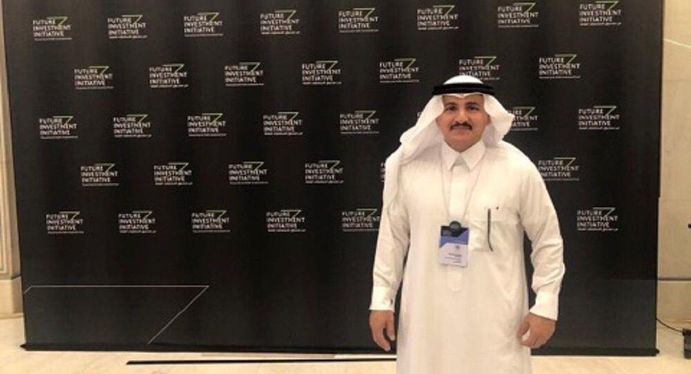 خالد العوهلي، نائب رئيس الشركة العربية السعودية القابطة للتعدين معادن