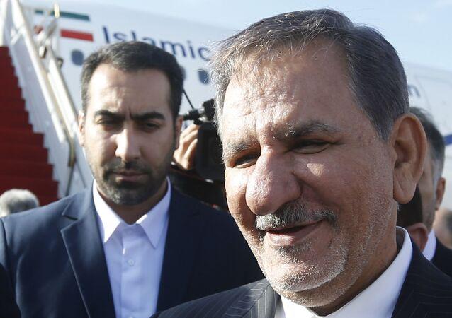 إسحاق جهانغيري، النائب الأول للرئيس الإيراني