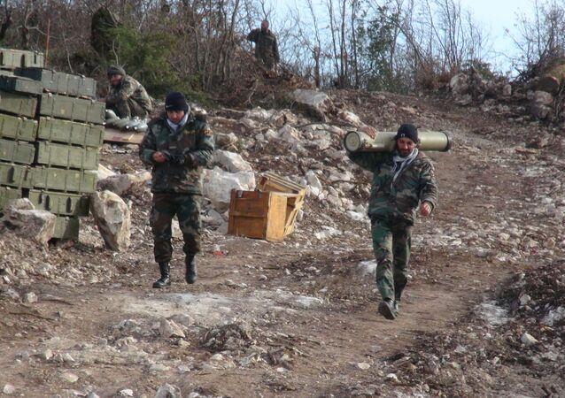 الجيش السوري يحرر سلسلة تلال احتلها الصينيون أمس