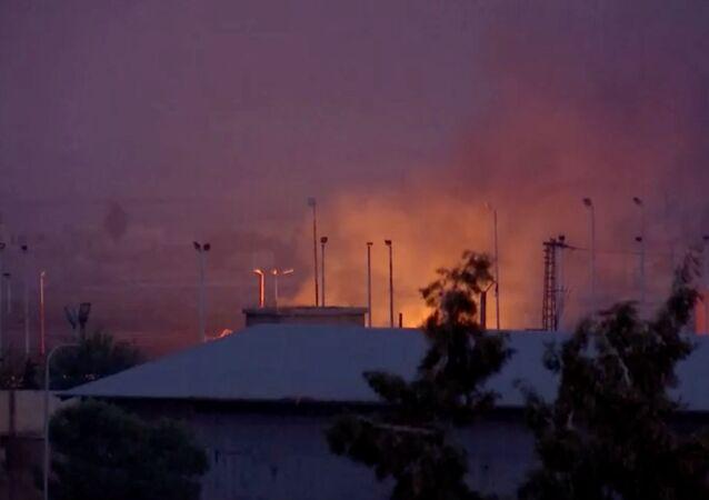 حريق في تركيا