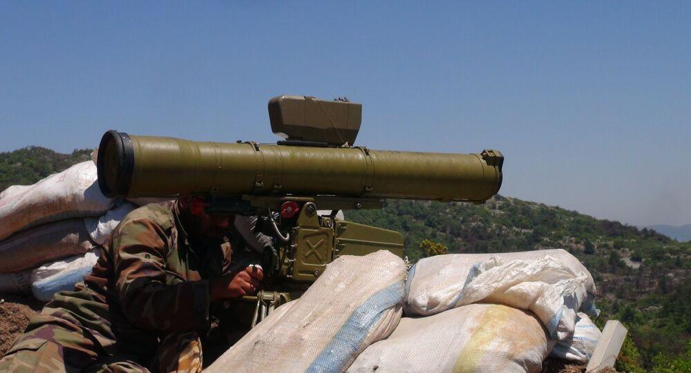 الصواريخ السورية الموجهة تصطاد عربات التركستان على الحدود التركية