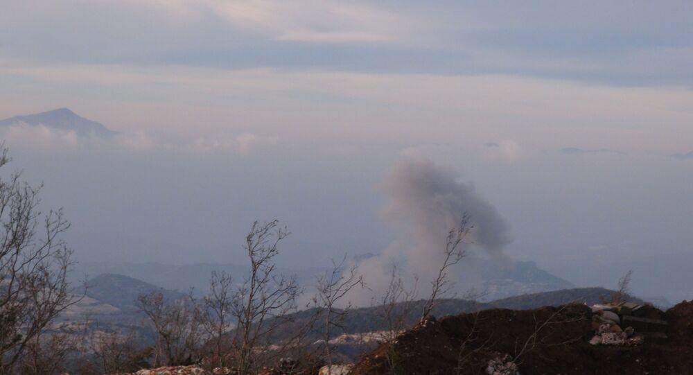 القاذفات الجوية تلاحق النصرة والتركستاني في أرياف اللاذقية وحماة وإدلب