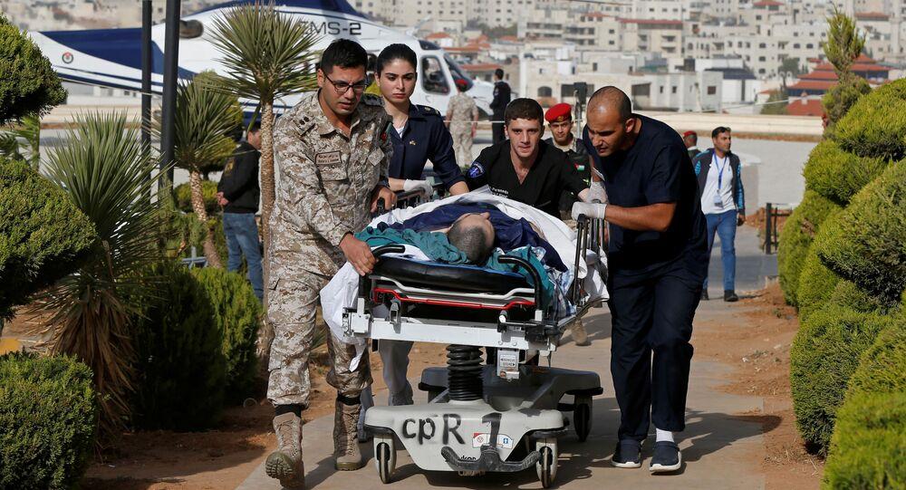 حادث الطعن في مدينة جرش بالأردن