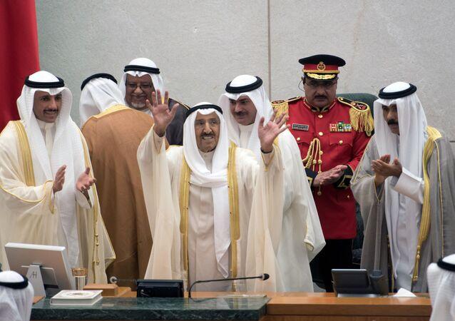 أمير الكويت الشيخ صباح الأحمد الجابر