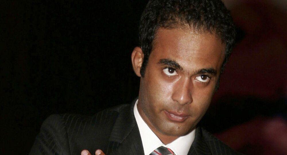 الفنان الشاب هيثم أحمد ذكي