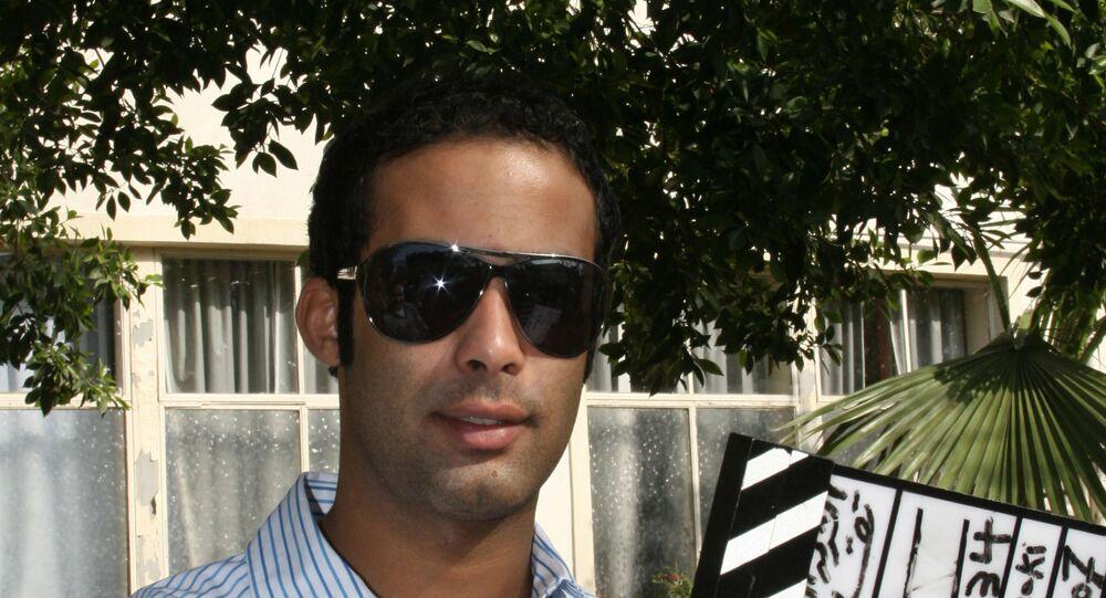الممثل المصري هيثم أحمد زكي