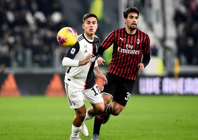 مباراة يوفنتوس وميلان في الدوري الإيطالي