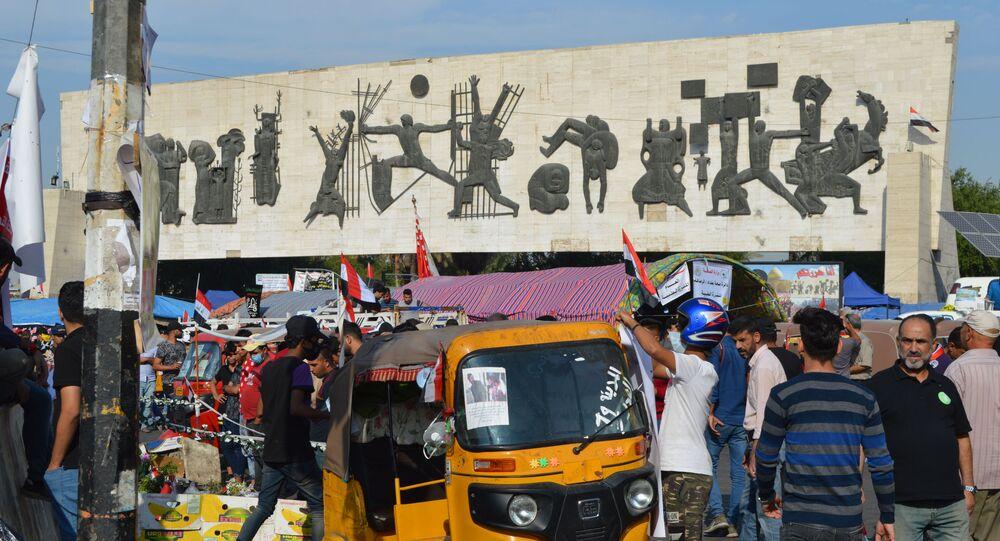 العراقيون يواصلون اعتصامهم لإقالة الحكومة