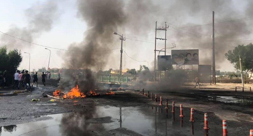 احتجاجات في ذي قار، جنوب العراق